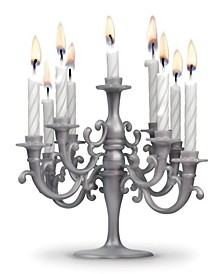 Cake Candelabbra with Candles