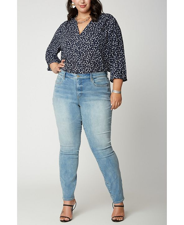 NYDJ Plus Size Alina Legging Jeans