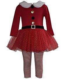 Baby Girls Santa Suit Set