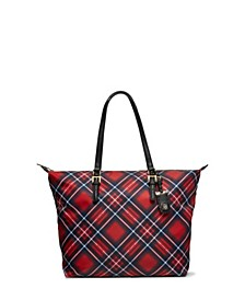 Julia Plaid Tote