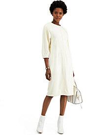 Alfani Seamed Fit & Flare Midi Dress, Created for Macy's