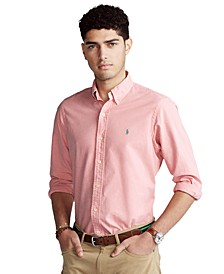 Men's Garment-Dyed Oxford Shirt