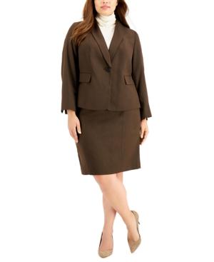 Plus Size Skirt Suit