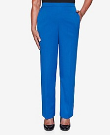 Women's Missy Vacation Mode Twill Proportioned Medium Pant