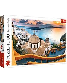 Jigsaw Puzzle Fairytale Santorini, 1000 Piece
