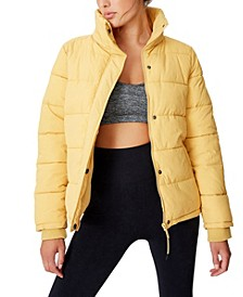 The Mother Puffer Jacket