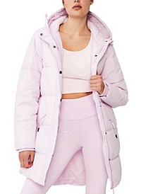 The Mother Mid Length Puffer Jacket