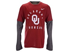 Youth Oklahoma Sooners Legend Layered-Look Long-Sleeve T-Shirt