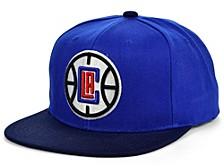 Los Angeles Clippers 2 Tone Classic Snapback Cap