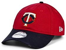 Minnesota Twins On Field Replica 9TWENTY Cap