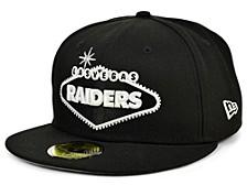 Las Vegas Raiders Sign 59FIFTY Cap