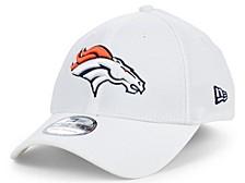 Denver Broncos White Team Classic 39THIRTY Cap