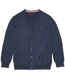 Men's Signature Cardigan with Magnetic Buttons