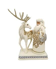 Enesco Holiday Lustre Santa/Reindeer