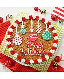 "12"" Holiday Ornament Cookie Cake"
