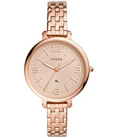 Women's Monroe Rose Gold-Tone Bracelet Watch 38mm