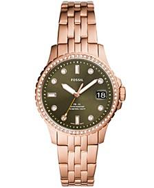Women's FB-01 Rose Gold-Tone Bracelet Watch 36mm