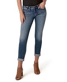Slim-Leg Boyfriend Jeans