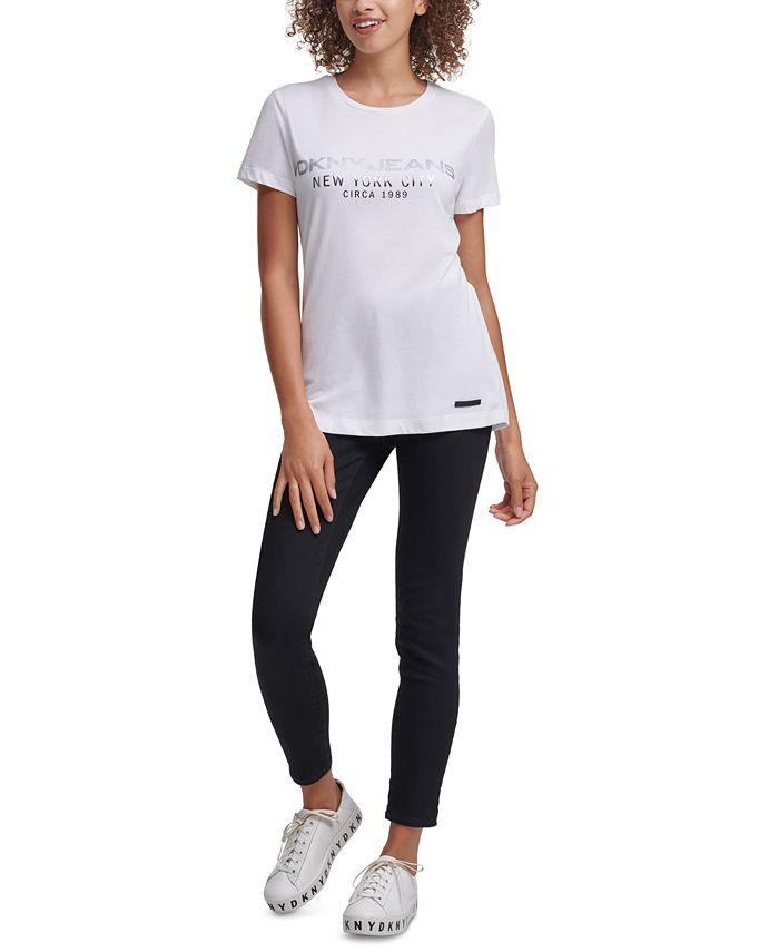 DKNY Jeans - Foil-Logo T-Shirt