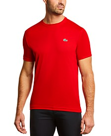 Men's SPORT Short Sleeve Crew Neck Ultra Dry Mesh Basic T-shirt