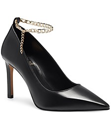 Women's Peddya Ankle Chain Pumps