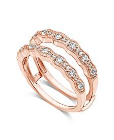 Diamond Enhancer Ring Guard (1/2 ct. t.w.) in 14K Rose Gold