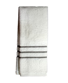"Egyptian Cotton Cableweave 16"" x 30"" Hand Towel, Created for Macy's"