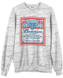 Cotton Budweiser Graphic Sweatshirt