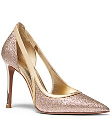 Nora Metallic Pumps