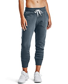 Women's Rival Fleece Embroidered Pant