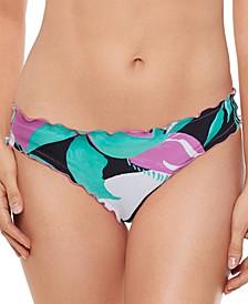 Juniors' Ruffle Hipster Bikini Bottoms, Created for Macy's