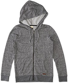 Juniors' Long-Sleeve Zip-Front Hoodie