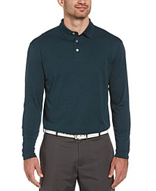 Men's Ottoman Long-Sleeve Polo Shirt