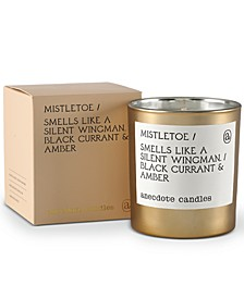 Mistletoe Black Currant & Amber Boxed Gold Tumbler Candle, 9-oz.
