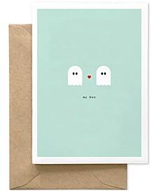 My Boo Blank Card
