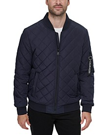 Men's Quilted Baseball Jacket