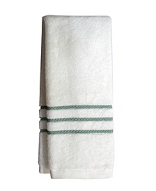 """Egyptian Cotton Cableweave 16"""" x 30"""" Hand Towel, Created for Macy's"""