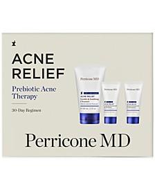 3-Pc. Acne Relief Prebiotic Acne Therapy 30-Day Set