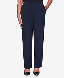 Women's Plus Size Vacation Mode Twill Proportioned Pant
