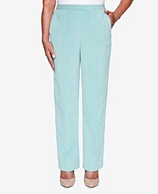 Women's Plus Size St. Moritz Textured Proportioned Pant