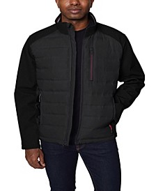Men's Mixed Media Softshell Jacket