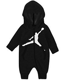 Baby Boys Full-Zip Hooded Coverall