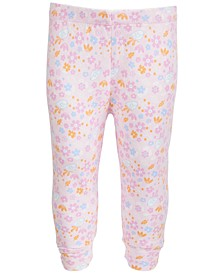Baby Girls Floral-Print Jogger Pants, Created for Macy's