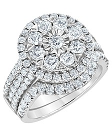 Diamond Bridal Set (2 1/2 ct. t.w.) in 14K White Gold