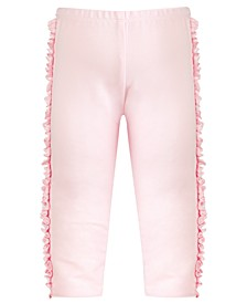Toddler Girls Side Ruffle Leggings, Created for Macy's