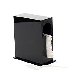 Plastic Utensil Stand, Cutlery Dispenser, Plasticware Sorter for Restaurant, Diner, Picnics