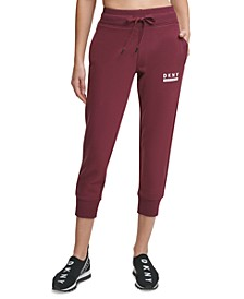 Sport Cotton Relaxed Ankle-Crop Joggers