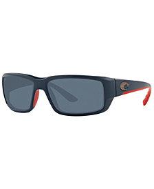 Costa Del Mar Fantail Polarized Sunglasses, 6S9006 59