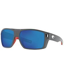 Diego Polarized Sunglasses, 6S9034 62
