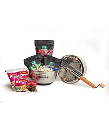 Stainless Steel Whirley Popcorn Complete Set, 7 Pieces